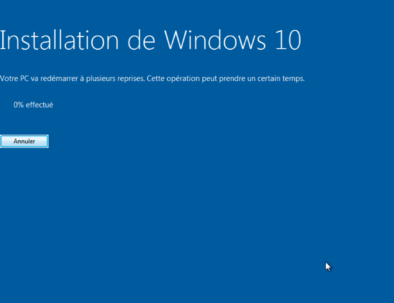 Passez de Windows 7 à Windows 10