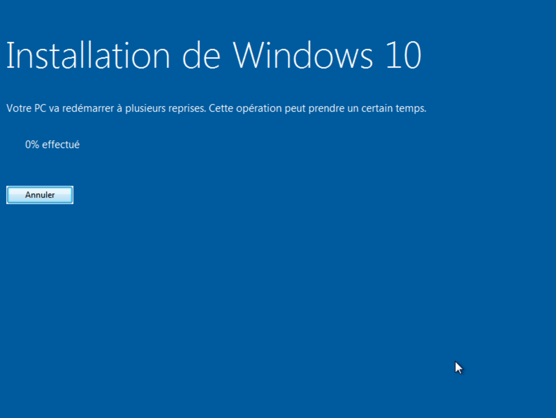 Passez de Windows 7 à Windows 10